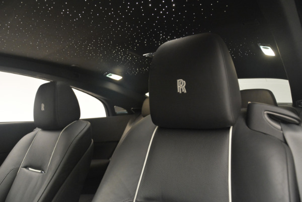 Used 2014 Rolls-Royce Wraith for sale Sold at Bentley Greenwich in Greenwich CT 06830 17