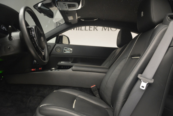 Used 2014 Rolls-Royce Wraith for sale Sold at Bentley Greenwich in Greenwich CT 06830 18