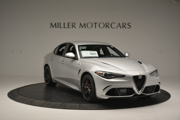New 2018 Alfa Romeo Giulia Quadrifoglio for sale Sold at Bentley Greenwich in Greenwich CT 06830 11