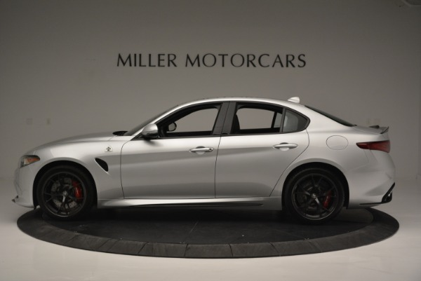 New 2018 Alfa Romeo Giulia Quadrifoglio for sale Sold at Bentley Greenwich in Greenwich CT 06830 3