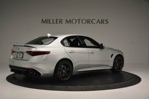 New 2018 Alfa Romeo Giulia Quadrifoglio for sale Sold at Bentley Greenwich in Greenwich CT 06830 8