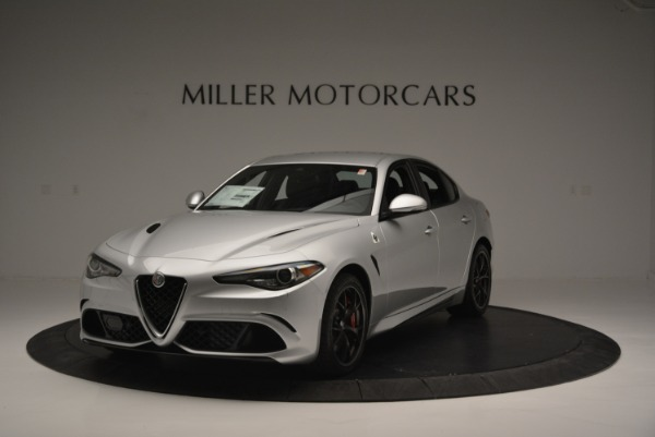 New 2018 Alfa Romeo Giulia Quadrifoglio for sale Sold at Bentley Greenwich in Greenwich CT 06830 1