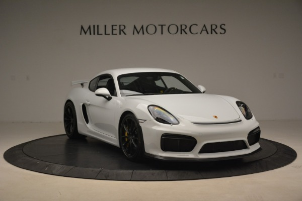 Used 2016 Porsche Cayman GT4 for sale Sold at Bentley Greenwich in Greenwich CT 06830 11