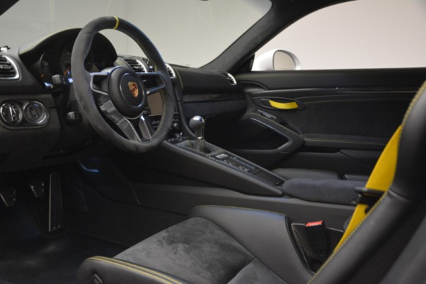 Used 2016 Porsche Cayman GT4 for sale Sold at Bentley Greenwich in Greenwich CT 06830 15
