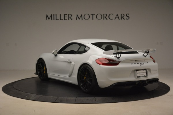 Used 2016 Porsche Cayman GT4 for sale Sold at Bentley Greenwich in Greenwich CT 06830 5
