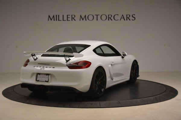 Used 2016 Porsche Cayman GT4 for sale Sold at Bentley Greenwich in Greenwich CT 06830 7
