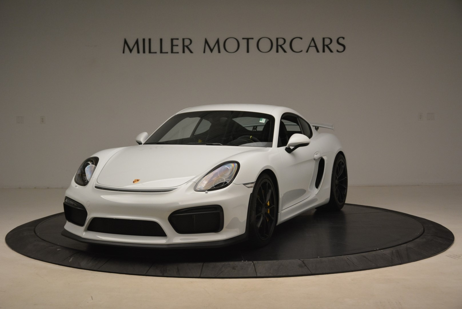 Used 2016 Porsche Cayman GT4 for sale Sold at Bentley Greenwich in Greenwich CT 06830 1