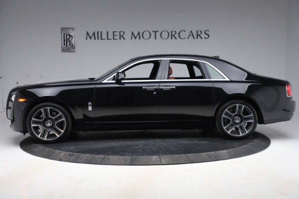 Used 2016 Rolls-Royce Ghost for sale Sold at Bentley Greenwich in Greenwich CT 06830 3