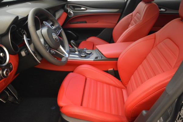 New 2018 Alfa Romeo Stelvio Ti Sport Q4 for sale Sold at Bentley Greenwich in Greenwich CT 06830 14