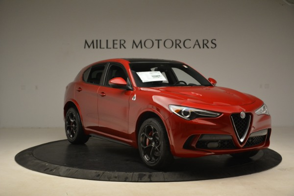 New 2018 Alfa Romeo Stelvio Quadrifoglio for sale Sold at Bentley Greenwich in Greenwich CT 06830 11