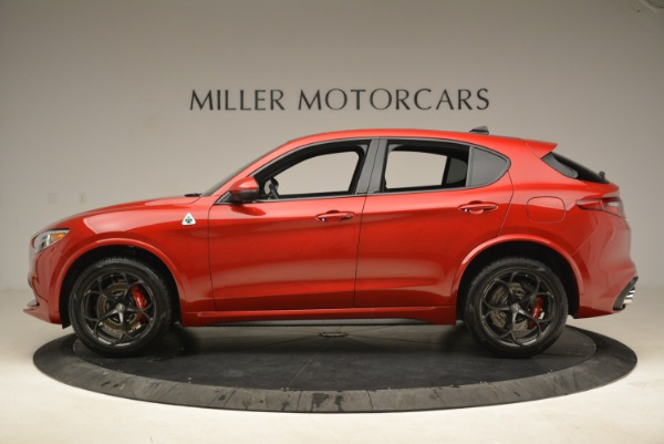 New 2018 Alfa Romeo Stelvio Quadrifoglio for sale Sold at Bentley Greenwich in Greenwich CT 06830 3