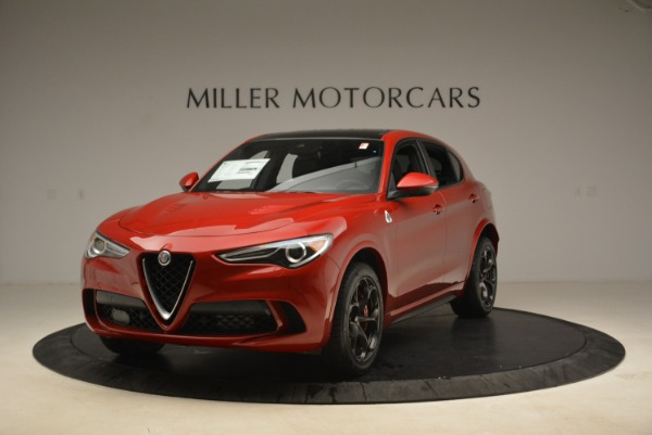 New 2018 Alfa Romeo Stelvio Quadrifoglio for sale Sold at Bentley Greenwich in Greenwich CT 06830 1