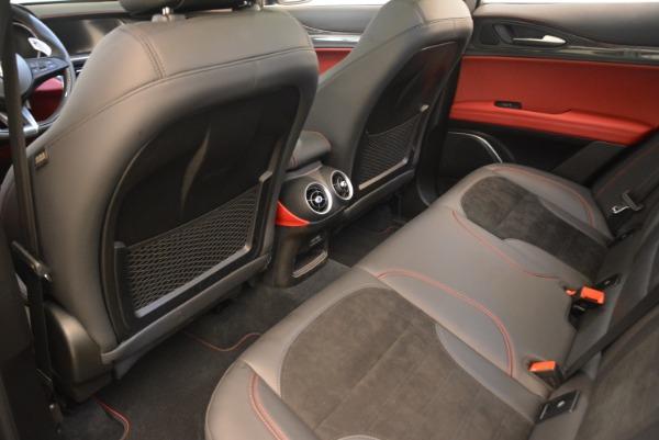 New 2018 Alfa Romeo Stelvio Quadrifoglio for sale Sold at Bentley Greenwich in Greenwich CT 06830 16