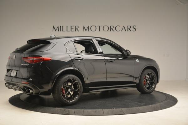 New 2018 Alfa Romeo Stelvio Quadrifoglio for sale Sold at Bentley Greenwich in Greenwich CT 06830 8
