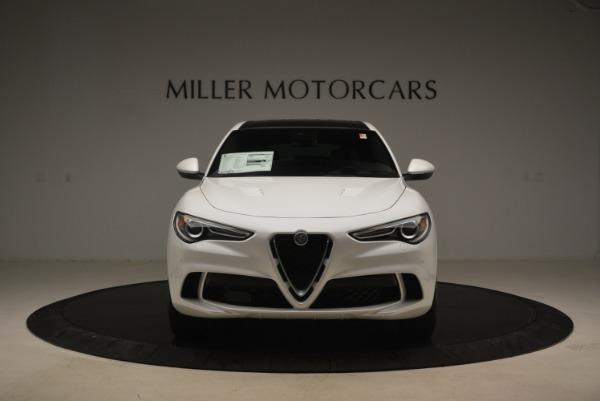 New 2018 Alfa Romeo Stelvio Quadrifoglio for sale Sold at Bentley Greenwich in Greenwich CT 06830 13