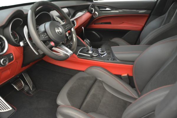 New 2018 Alfa Romeo Stelvio Quadrifoglio for sale Sold at Bentley Greenwich in Greenwich CT 06830 14