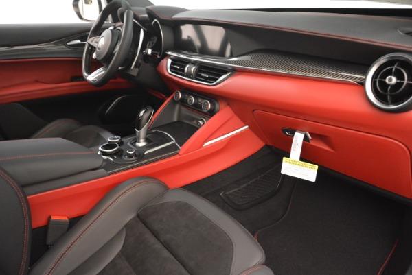 New 2018 Alfa Romeo Stelvio Quadrifoglio for sale Sold at Bentley Greenwich in Greenwich CT 06830 20