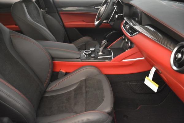 New 2018 Alfa Romeo Stelvio Quadrifoglio for sale Sold at Bentley Greenwich in Greenwich CT 06830 21