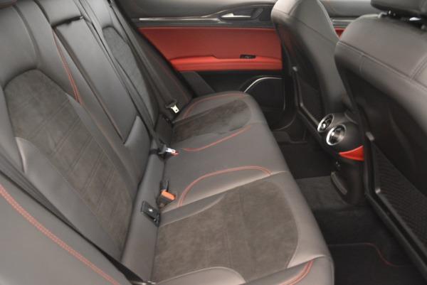 New 2018 Alfa Romeo Stelvio Quadrifoglio for sale Sold at Bentley Greenwich in Greenwich CT 06830 24