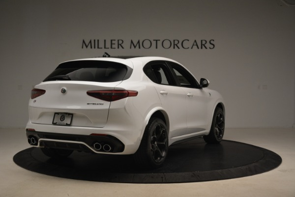 New 2018 Alfa Romeo Stelvio Quadrifoglio for sale Sold at Bentley Greenwich in Greenwich CT 06830 7