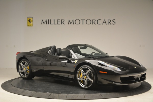 Used 2013 Ferrari 458 Spider for sale Sold at Bentley Greenwich in Greenwich CT 06830 10