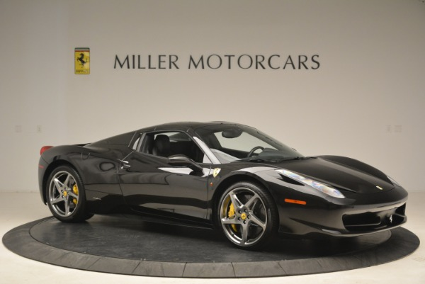 Used 2013 Ferrari 458 Spider for sale Sold at Bentley Greenwich in Greenwich CT 06830 22