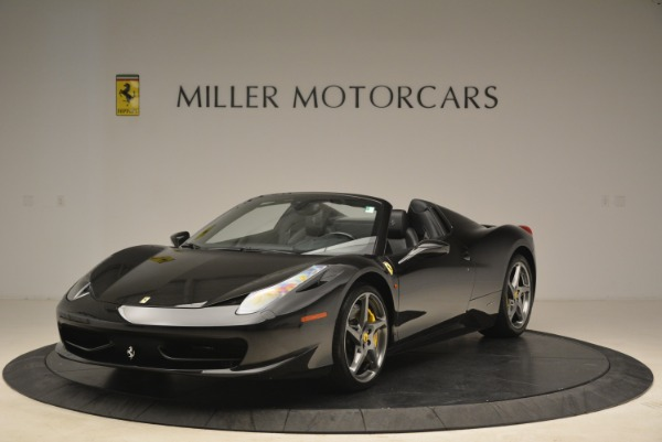 Used 2013 Ferrari 458 Spider for sale Sold at Bentley Greenwich in Greenwich CT 06830 1
