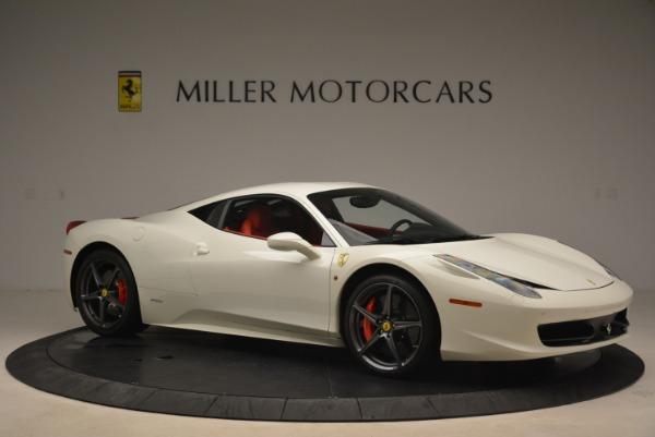 Used 2014 Ferrari 458 Italia for sale Sold at Bentley Greenwich in Greenwich CT 06830 10
