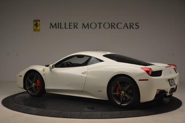 Used 2014 Ferrari 458 Italia for sale Sold at Bentley Greenwich in Greenwich CT 06830 4