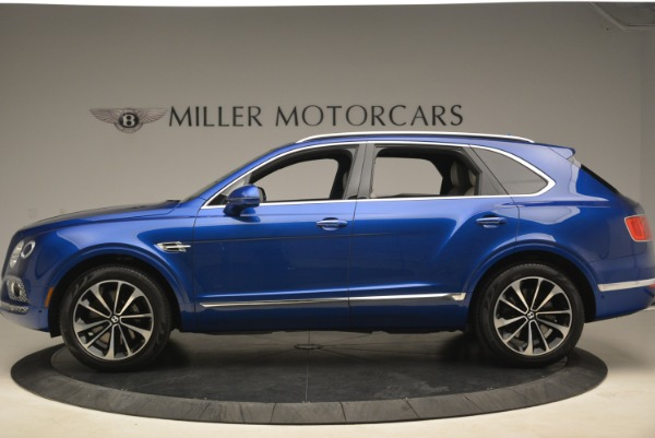 Used 2018 Bentley Bentayga W12 Signature for sale Sold at Bentley Greenwich in Greenwich CT 06830 3
