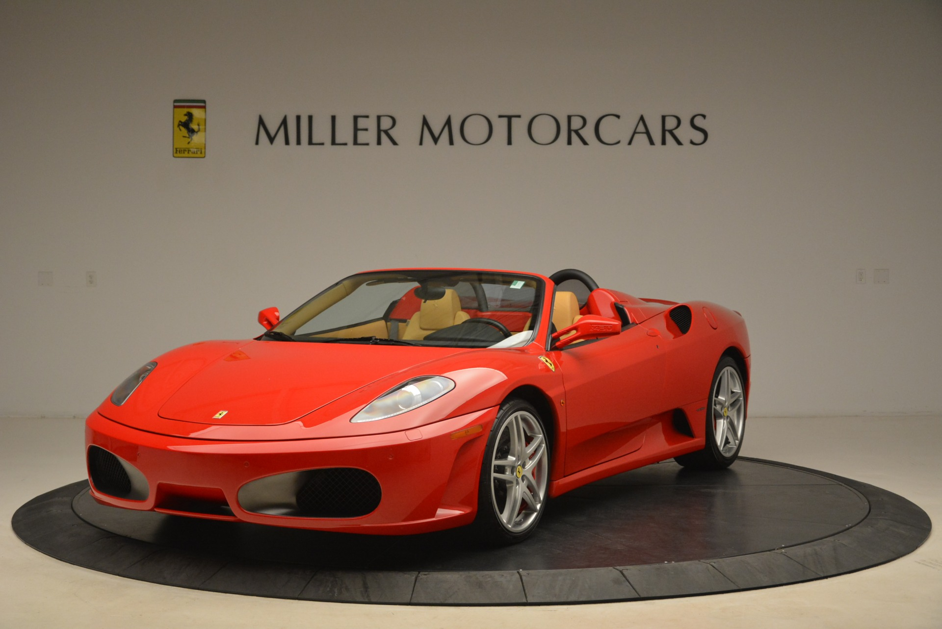 Pre Owned 2008 Ferrari F430 Spider For Sale Special Pricing Bentley Greenwich Stock 4457a