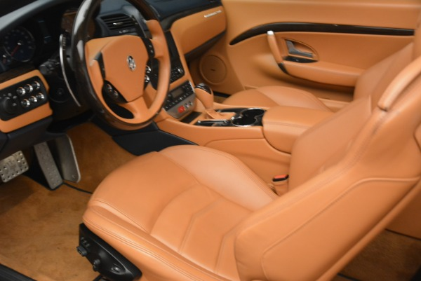 Used 2014 Maserati GranTurismo Sport for sale Sold at Bentley Greenwich in Greenwich CT 06830 24