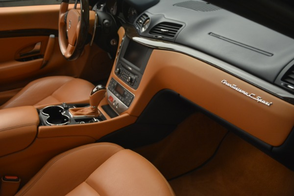 Used 2014 Maserati GranTurismo Sport for sale Sold at Bentley Greenwich in Greenwich CT 06830 28