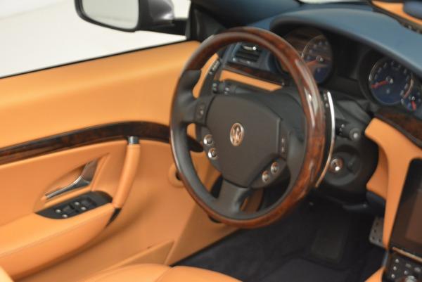 New 2018 Maserati GranTurismo Sport Convertible for sale Sold at Bentley Greenwich in Greenwich CT 06830 15