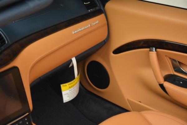 New 2018 Maserati GranTurismo Sport Convertible for sale Sold at Bentley Greenwich in Greenwich CT 06830 17