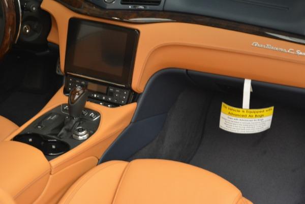 New 2018 Maserati GranTurismo Sport Convertible for sale Sold at Bentley Greenwich in Greenwich CT 06830 19