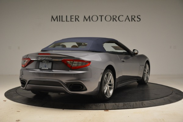 New 2018 Maserati GranTurismo Sport Convertible for sale Sold at Bentley Greenwich in Greenwich CT 06830 7