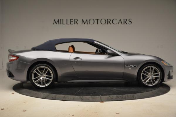 New 2018 Maserati GranTurismo Sport Convertible for sale Sold at Bentley Greenwich in Greenwich CT 06830 9