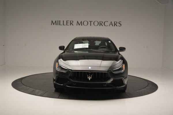 New 2018 Maserati Ghibli SQ4 GranSport Nerissimo for sale Sold at Bentley Greenwich in Greenwich CT 06830 12