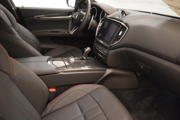New 2018 Maserati Ghibli SQ4 GranSport Nerissimo for sale Sold at Bentley Greenwich in Greenwich CT 06830 16
