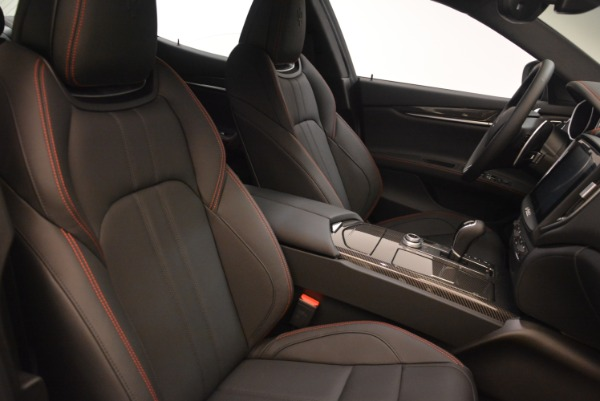 New 2018 Maserati Ghibli SQ4 GranSport Nerissimo for sale Sold at Bentley Greenwich in Greenwich CT 06830 18