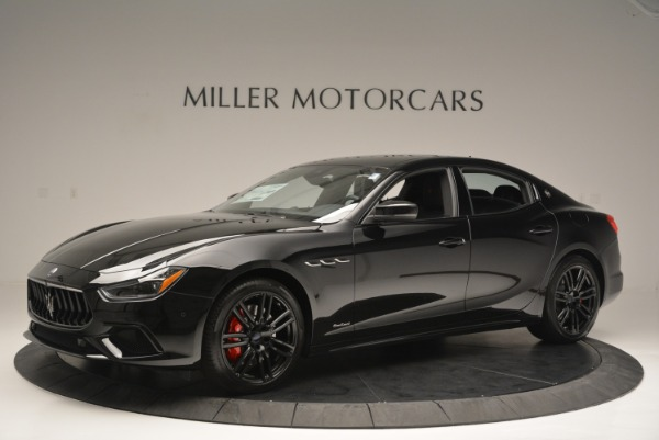 New 2018 Maserati Ghibli SQ4 GranSport Nerissimo for sale Sold at Bentley Greenwich in Greenwich CT 06830 2