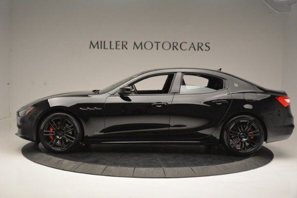 New 2018 Maserati Ghibli SQ4 GranSport Nerissimo for sale Sold at Bentley Greenwich in Greenwich CT 06830 3