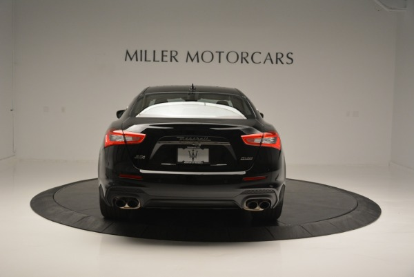 New 2018 Maserati Ghibli SQ4 GranSport Nerissimo for sale Sold at Bentley Greenwich in Greenwich CT 06830 6