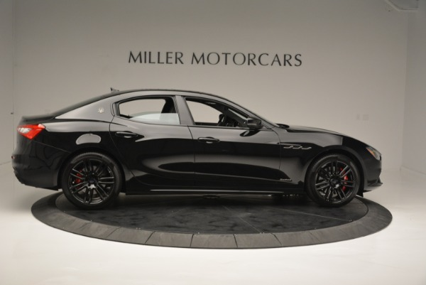 New 2018 Maserati Ghibli SQ4 GranSport Nerissimo for sale Sold at Bentley Greenwich in Greenwich CT 06830 9