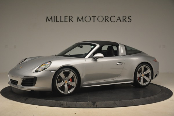 Used 2017 Porsche 911 Targa 4S for sale Sold at Bentley Greenwich in Greenwich CT 06830 14
