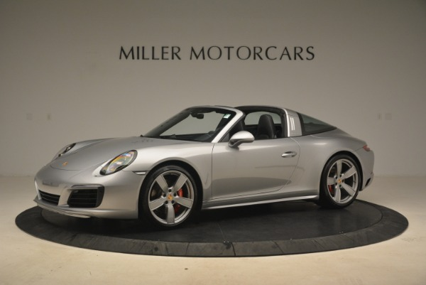 Used 2017 Porsche 911 Targa 4S for sale Sold at Bentley Greenwich in Greenwich CT 06830 2