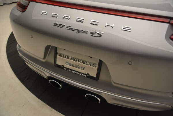 Used 2017 Porsche 911 Targa 4S for sale Sold at Bentley Greenwich in Greenwich CT 06830 28