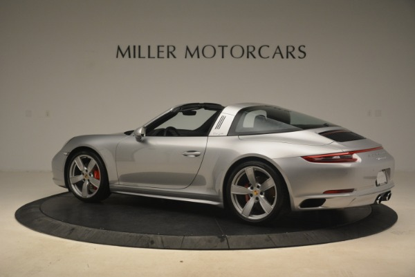 Used 2017 Porsche 911 Targa 4S for sale Sold at Bentley Greenwich in Greenwich CT 06830 4