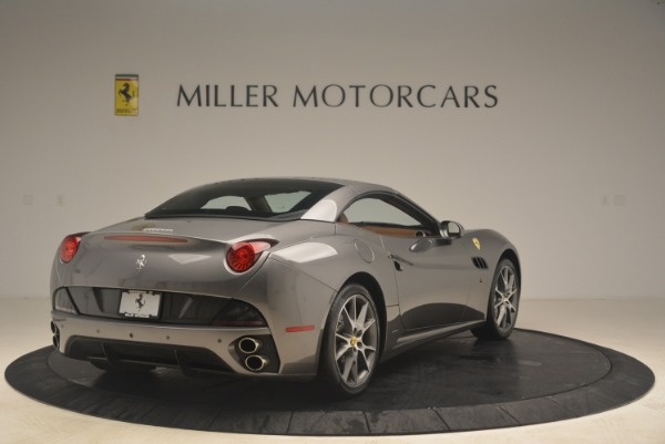 Used 2012 Ferrari California for sale Sold at Bentley Greenwich in Greenwich CT 06830 19